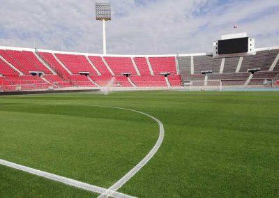 Resultados obtenidos en Estadio Nacional.