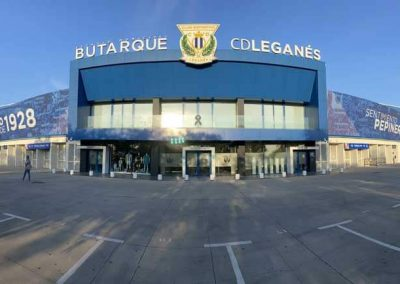 Estadio Butarque CD Leganes.
